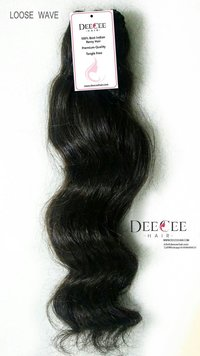 WAVE INDIAN HUMAN HAIR MACHINE WEFT