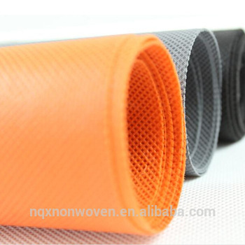 Orange Color Non Woven Fabrics
