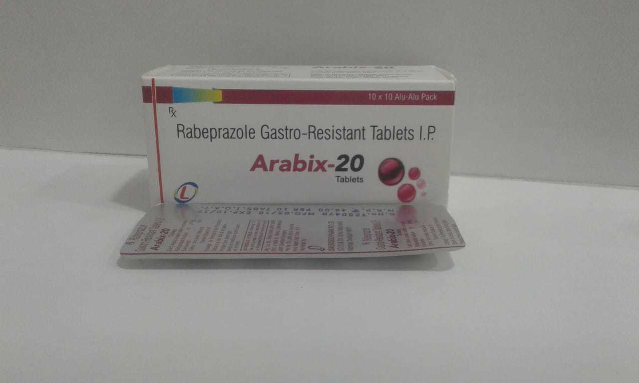 RABEPRAZOLE GASTRO- RESISTANT TABLETS I.P.