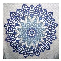 Hippie Indian 100% Cotton Floral Mandala Wall hanging Tapestry