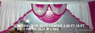 Pandal Entry Gate Fabric