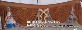 Mandap Entry Gate Fabric