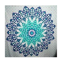 Hippie 100% Cotton Multi Color Floral Wall hanging Tapestry