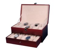 Hard Craft maroon Watch Box for 20 Watches