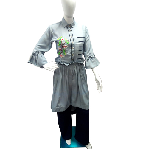 Ladies Fashionable Long Kurtis