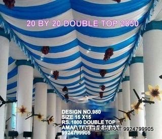 Tent Wedlock Fabric
