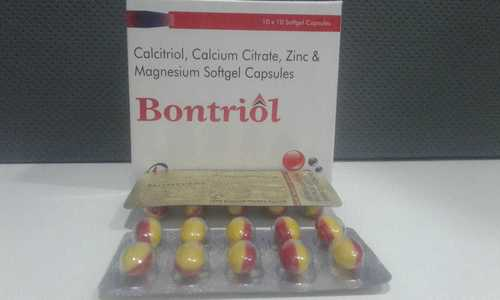 CALCITRIOL , CALCIUM CITRATE, ZINC & MAGNESIUM SOFTGEL CAPSULE