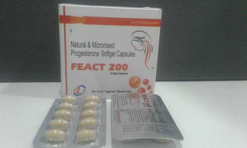 NATURAL & MICRONISED PROGESTERON SOFTGEL CAPSULES