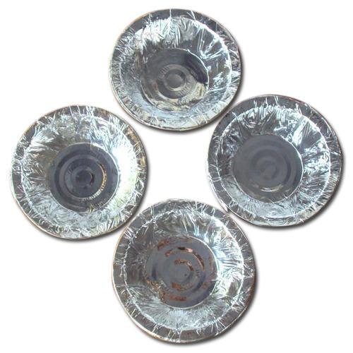 Disposable Silver Paper Dona
