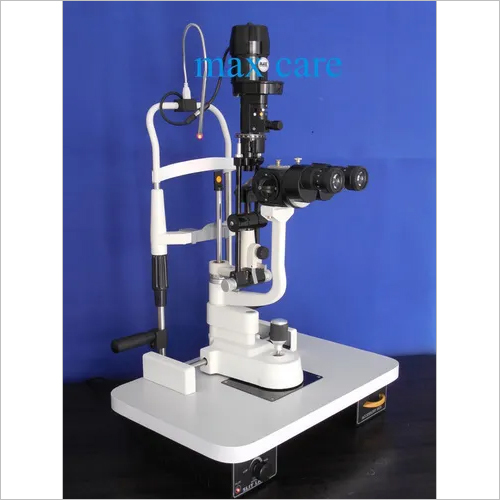 3 Step Slit Lamp Z Type Magnification