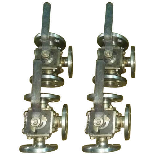 3 Way Ball Valve Flanged