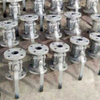 2 Way Ball Valve Flanged