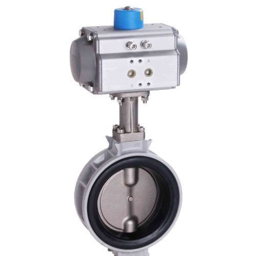 Cast Iron Actuator Butterfly Valve