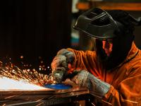 Welding & grinding helmet