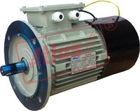 Encoder Mounted Motor