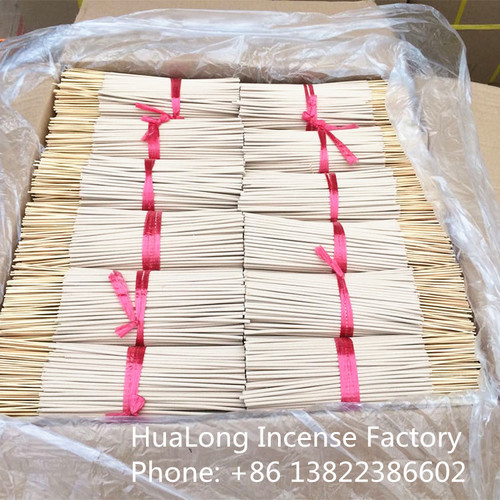 8inch raw agarbatti white bamboo incense sticks