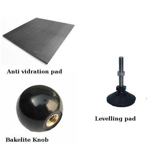 Anti Vidration pad & Bakelite Knob & Levelling pad