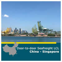 Sea Freight LCL Service