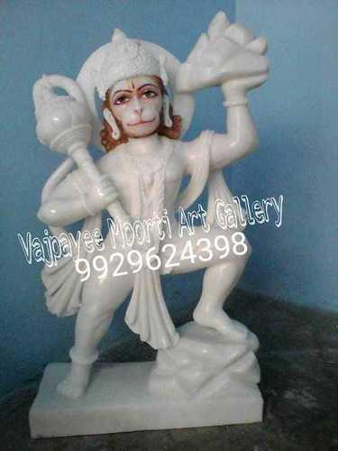 Makrana Marble Hanuman Statue