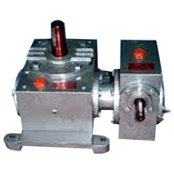 Vertical Double Worm Gear