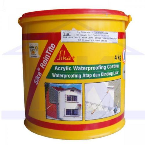 Acrylic Waterproofing Coating Certifications: On Request
