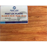 Faux Wood PVC Sheet