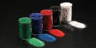 Blue Rotomolding Granules
