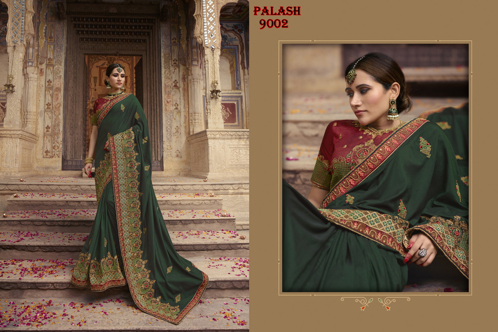 Designer Bridal Sarees Online