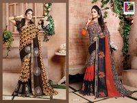 Fancy Print Sarees Online