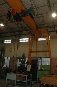 Semi Goliath Gantry Cranes