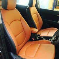 Plain Pu Leather Car Seat Cover
