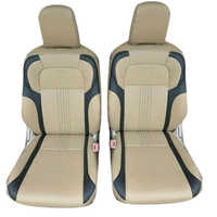 Pu Designer Car Seat Cover