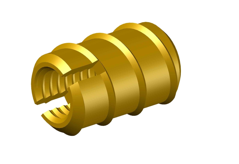 Brass Wood Insert Nut