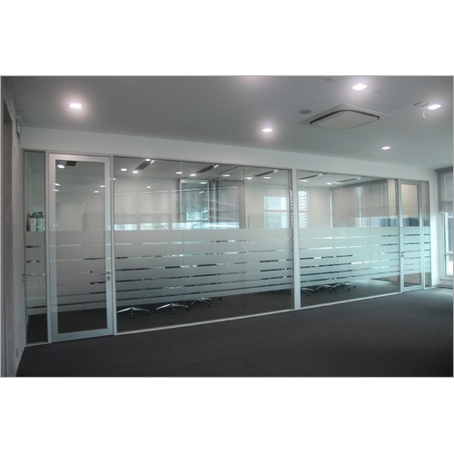 Office Glass Partition Work