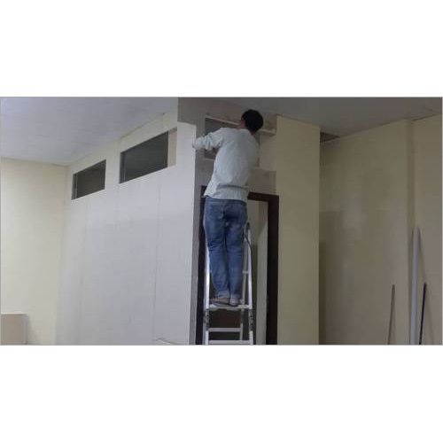 Gypsum Board Partition Works Bhoomi Glass Interior Works