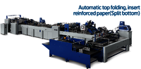Fully Automatic Sheet Feeding Paper Bag Making Machine