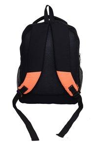 Hard Craft Unisex's Backpack 15 Inch Laptop Backpack Lightweight (Orange-Black)