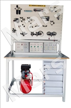 PNEUMATIC TRAINER KIT WITH WORK STATION
