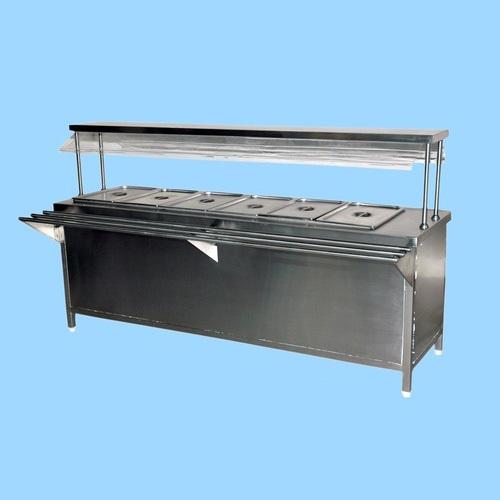 SS Hot Bain Marie Counter