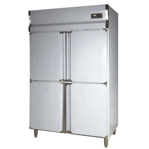SS Four Door Vertical Refrigerator