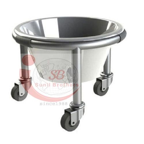 Stainless Steel Kick Bucket