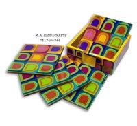 Mdf Printed Tea Coasters