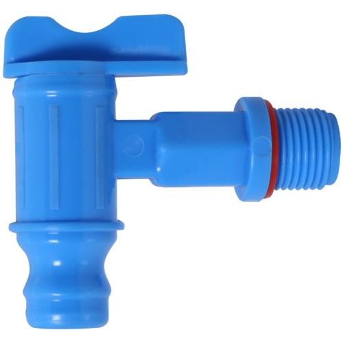 Blue PVC Water Tap