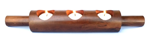 Rolling Pin Tealight Holder