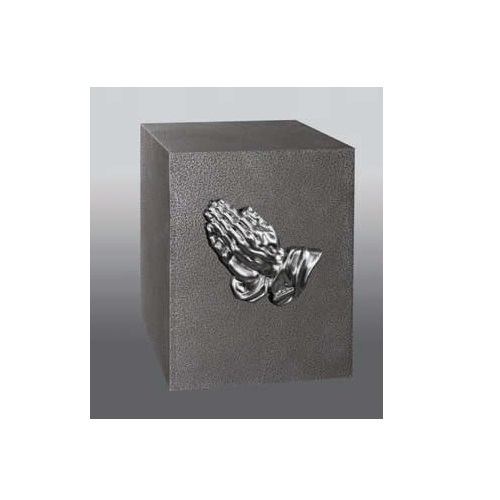 Unity I Praying Hands Cube Urn