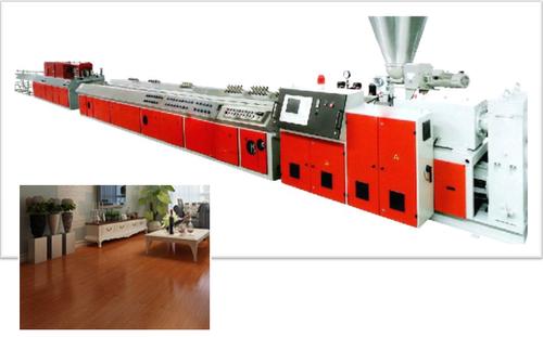 Pvc Stone Plastic Flooring Production Line