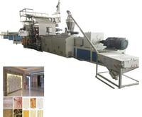 Pvc Marble Board Extrusion Line
