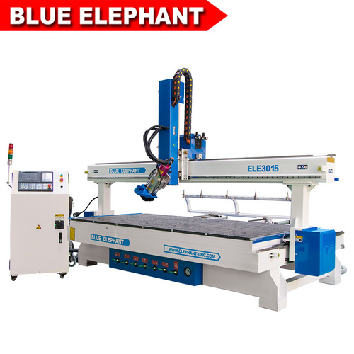 3015 Heavy Atc 4 Axis Woodworking Cnc Router Machine Price