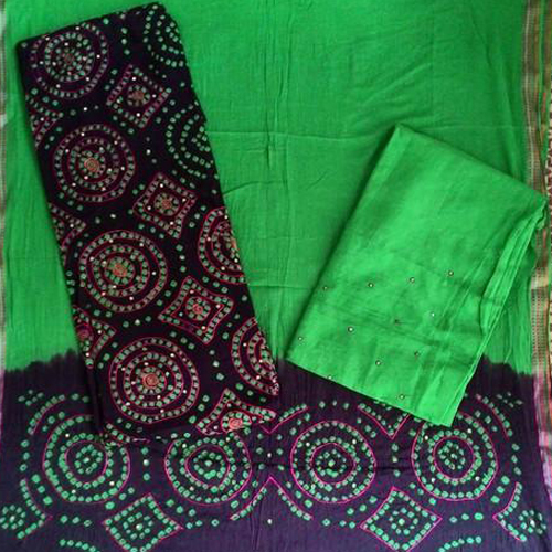Khatali Work With Printed Salwar & Dupatta