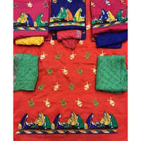 Kuchhi Work Suit Dress Material